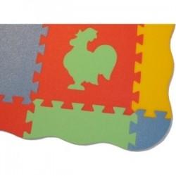 """Rand für Puzzlematten XL9 """"Wolle"""" dick"""