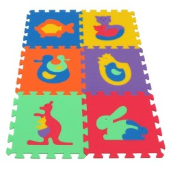 Foam mat MAXI Animals 1