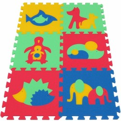 Foam mat MAXI Animals II