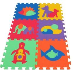 Habszivacs szőnyeg MAXI Állatok II