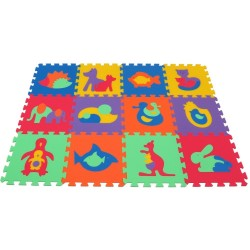 Foam mat MAXI Animals I-II