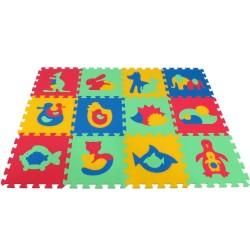 Tappeto puzzle MAXI Animmali I-II
