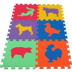 Tappeto puzzle MAXI Animmali III