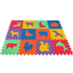 Puzzlematte  MAXI Tiere III-IV