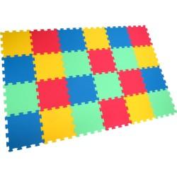 Bodenmatte Puzzlematte Uni-Form 24