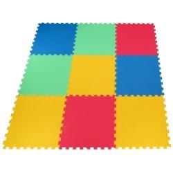 Bodenmatte Puzzlematte Mid-form 9