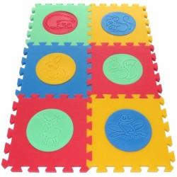 Tappeto puzzle MAXI Animmali VI, 16 mm