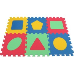 Tappeto puzzle MAXI Geo, 16 mm