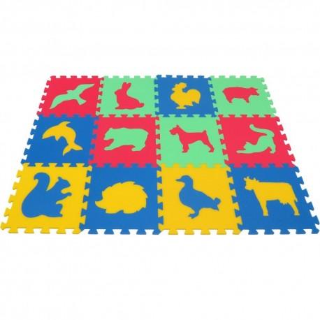 Foam mat MAXI Animals III-IV strong