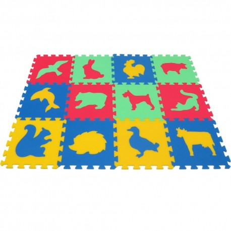 Puzzlematte  MAXI Tiere III-IV dick