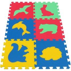 Tappeto puzzle MAXI Animmali IV 16 mm