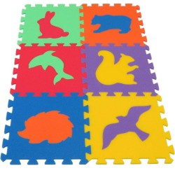 Tapis MAXI Animaux IV fort