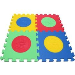 Tappeto puzzle MAXI Animmali V, 16 mm