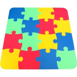 Tappeto puzzle Klasik 16, 16 mm