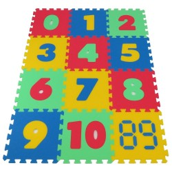 Foam Puzzle MAXI Numbers 16 mm