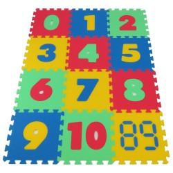 Tappeto puzzle MAXI – i numeri 16 mm