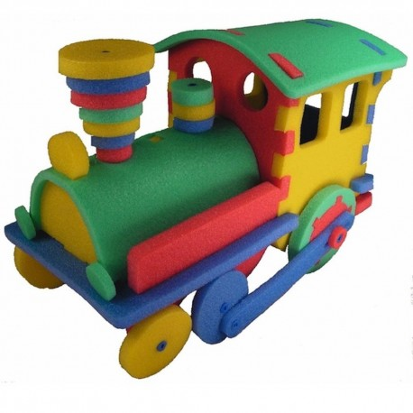 Dampf-Lokomotive 3D