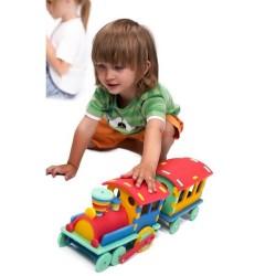 Lokomotive 3D-Puzzle