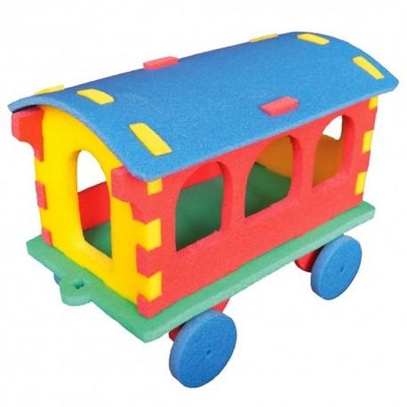 3D Vasúti kocsi