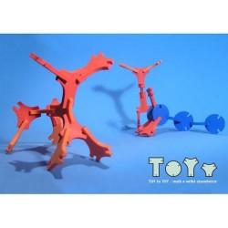 TOY to TOY, mini-jeu de construction