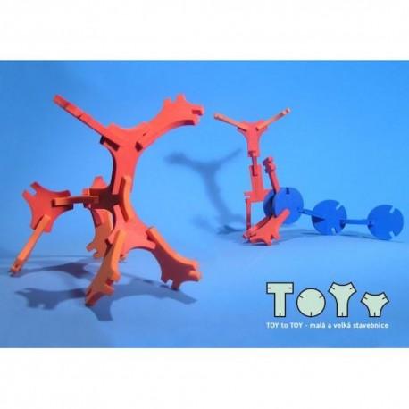 TOY to TOY, malá 3D stavebnica