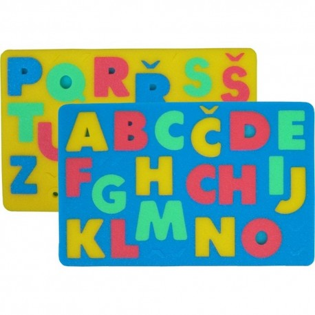 Litery - puzzle piankowe