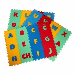 Foam mat 36 Latin letters