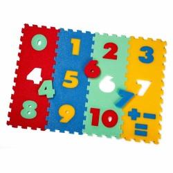 Puzzlematte 12 Zahlen