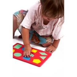 Puzzle piankowe: Kształty geometryczne