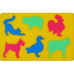 Puzzle piankowe: Zwierzęta domowe