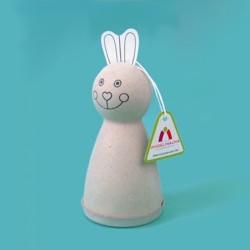 Kreatywne maxi zestaw Pokoloruj swojego króliczka (12 sztuk)
