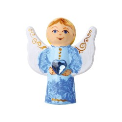 Kreativní sada Vyzdob si anděla! (anděl s křídly ve tvaru vlny)