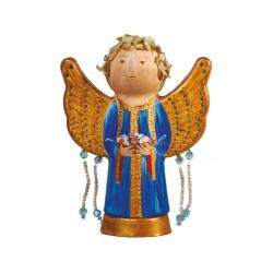 Kreativ-set Malen Sie Ihr Engel! (ein Engel mit Flügeln in der Form von Wellen)