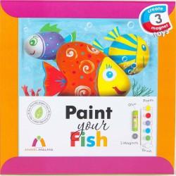 Un ensemble de créations de Peinture de vos poissons!