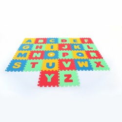 Коврик Макси латинские буквы
