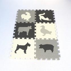 Pěnový koberec MAXI EVA Zvířata III