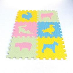 Foam mat MAXI EVA Animals III