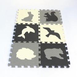 Tappeto puzzle MAXI EVA Animmali IV