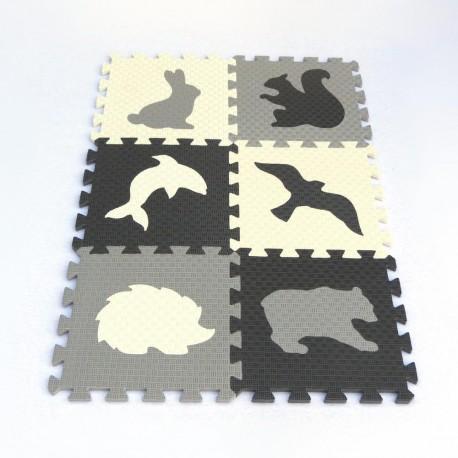 Bodenmatte Puzzlematte MAXI EVA Tiere IV