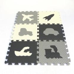 Bodenmatte Puzzlematte MAXI EVA oder Verkehrsmitteln