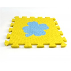 Bodenmatte Puzzlematte MAXI EVA Kleeblatt