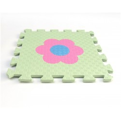 Penový koberec MAXI EVA Kvet