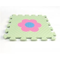 Pěnový koberec MAXI EVA Kytička