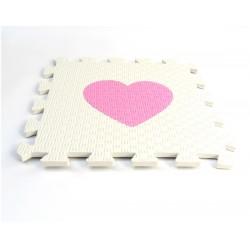 Foam puzzle MAXI EVA Heart