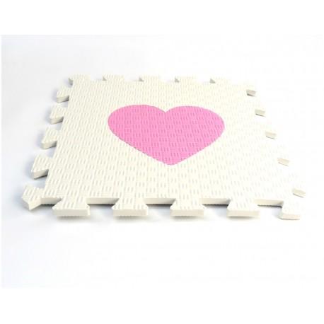 Penový koberec MAXI EVA Srdce