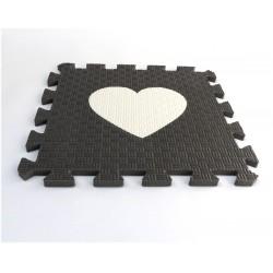 Bodenmatte Puzzlematte MAXI EVA Herzen