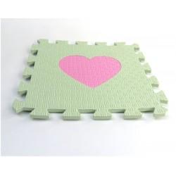 Pěnový koberec MAXI EVA Srdíčko