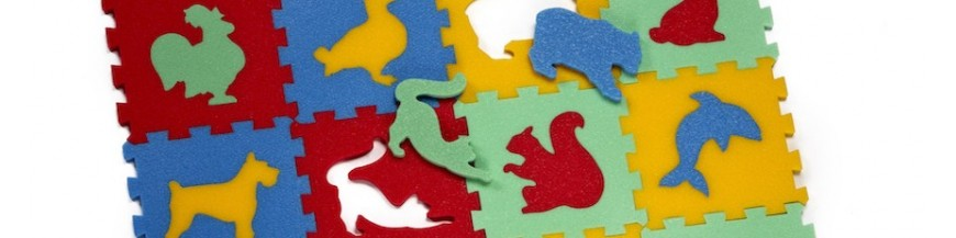 Penové puzzle 8 mm
